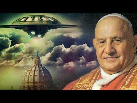 Lo que le dijeron los Extraterrestres al Papa Juan XXIII