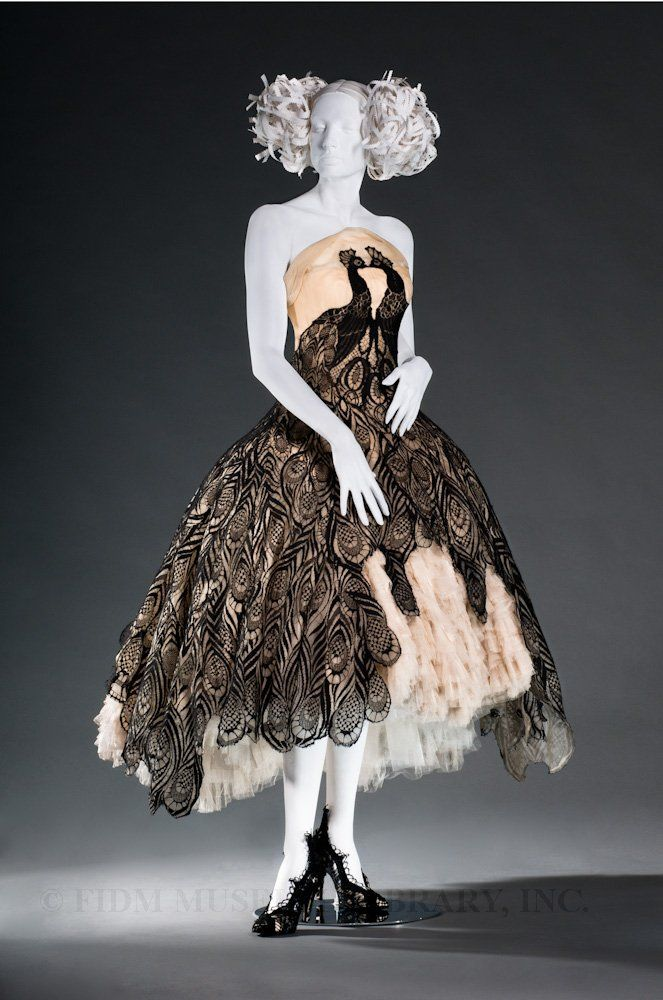 The McQueen peacock dress. One of only 3 in the world.