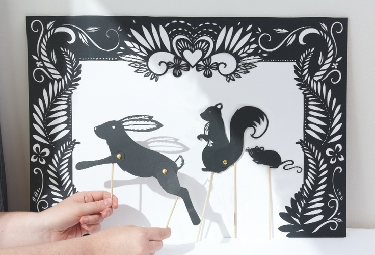 Shadow Puppets. So delicate.