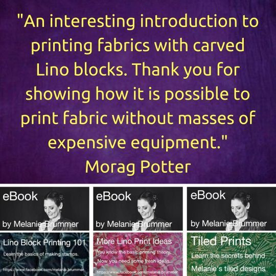 eBooks and online courses ... lino block printing for beginners