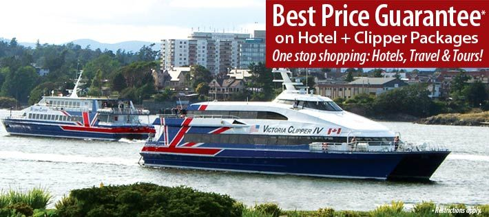 Victoria Clipper Ferry Schedules & Fares for Seattle ...
