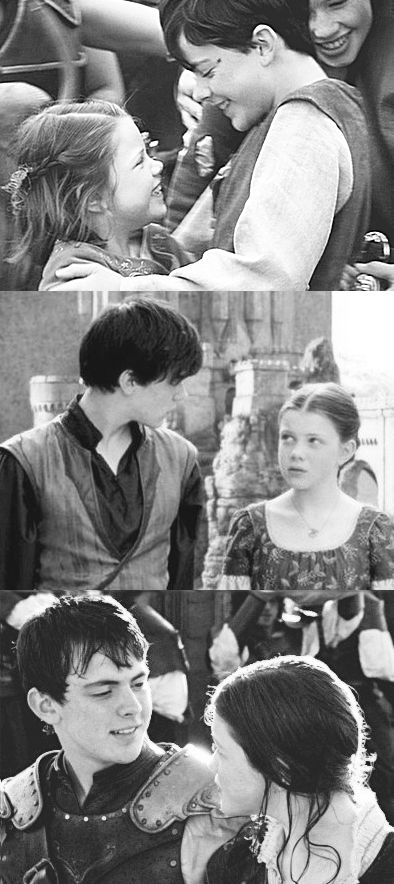 Edmund & Lucy--one if the best brother/sister relationships in all of literature. Ever.