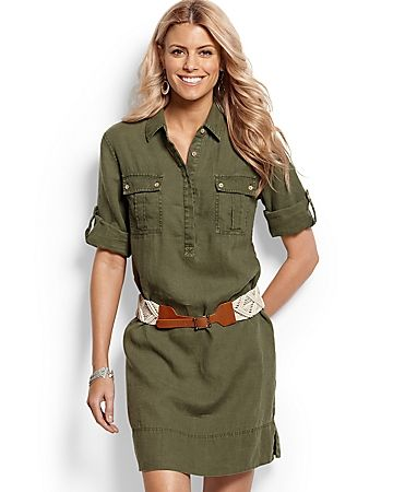 Tommy Bahama, two palms safari dress