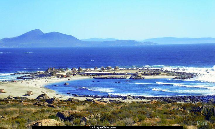 Playa de Totoralillo. Se ubica en la IV región, al sur de Coquimbo, Chile - for when I visit Cata!!