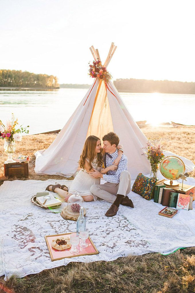 Photo Fridays | Bohemian Riverside Inspiration