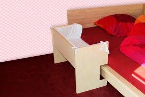 Baby Beistellbett für Malm Bett (natur)