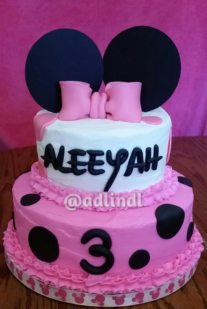 Best 20 Mini Mouse Cake Ideas On Pinterest Minnie Mouse