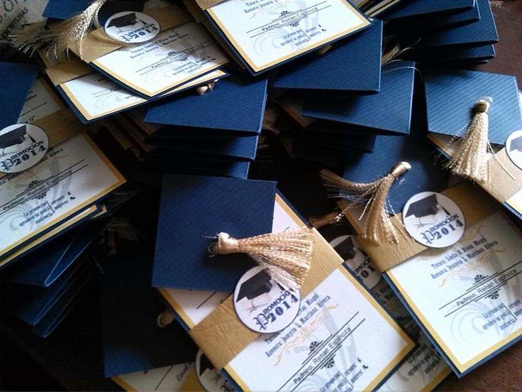 invitaciones de graduacion