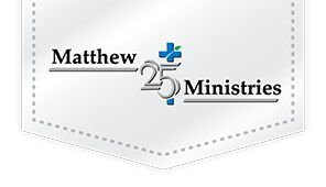How-To: Grocery Bag Crochet Mat - Matthew 25 Ministries Logo For Matthew 25 Ministries