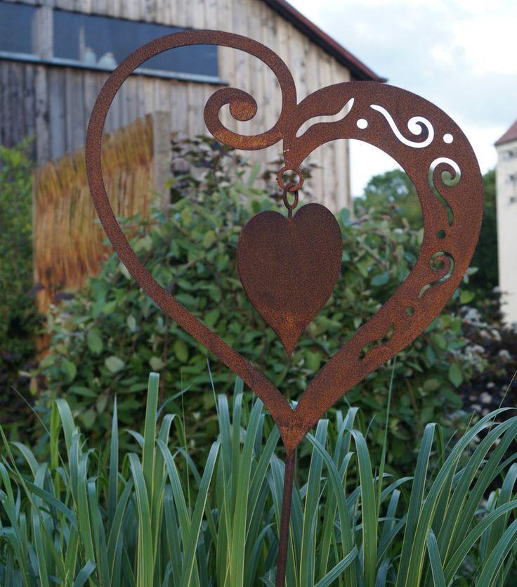 the 25+ best gartenstecker rost ideas on pinterest   gartendeko, Gartenarbeit ideen