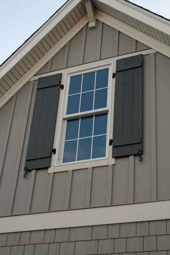 I like this color for shutters
