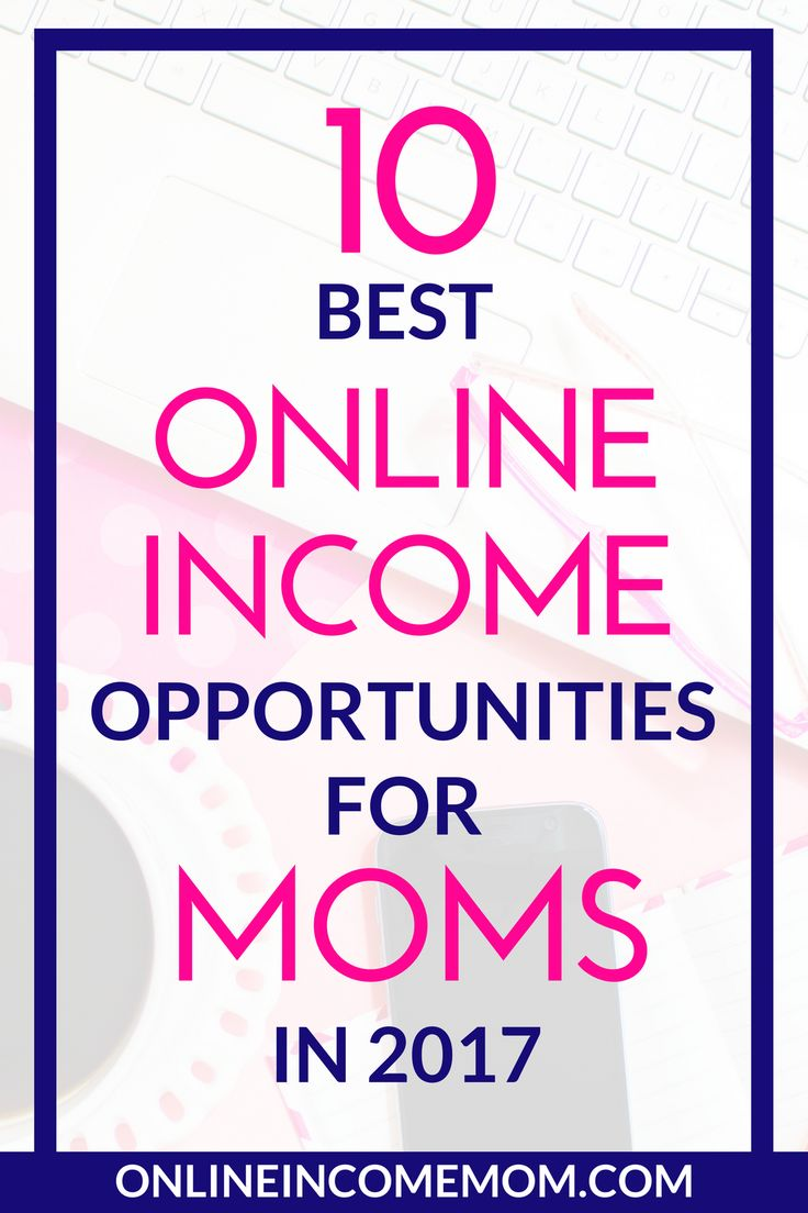 Wow, take a look at the best online income opportunities for moms this year. This list is amazing if you want to make money online. via @keciahambrick