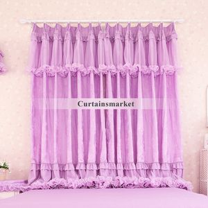 Purple colored nursery curtains sale are adorable for girls