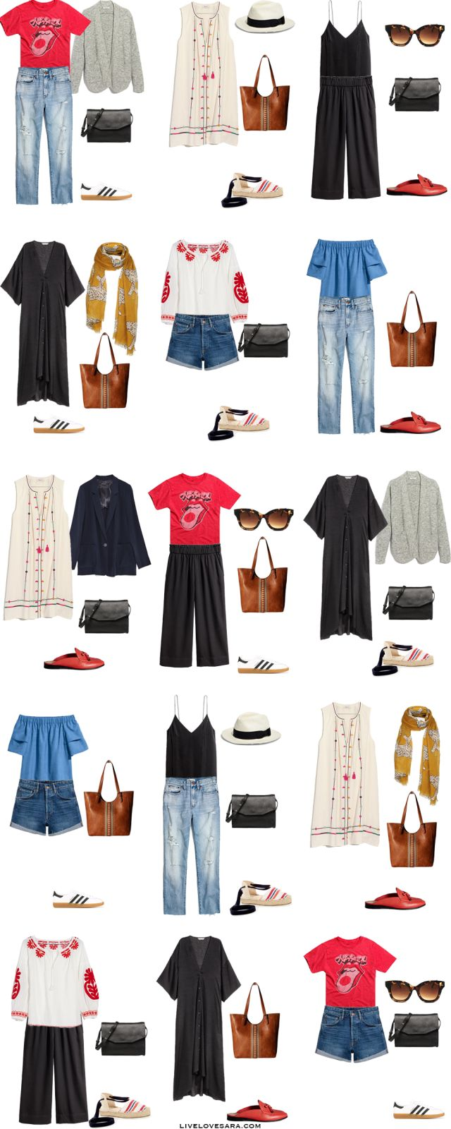 Packing List: 7 days in Hawaii in Summer. What to Wear: Outfit Options - livelovesara