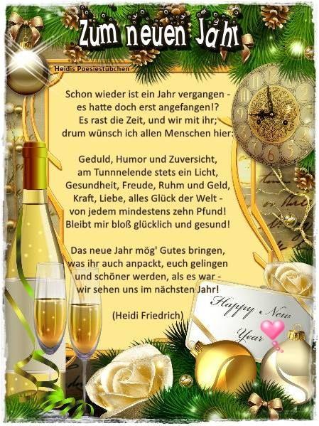 7789_1240781932605323_2407276482009507385_n (449×599). Silvester  NeujahrSprüche WeihnachtenWahre ...