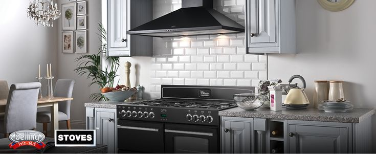 Free Cooker Hood With Any Stoves or Belling Range Cooker