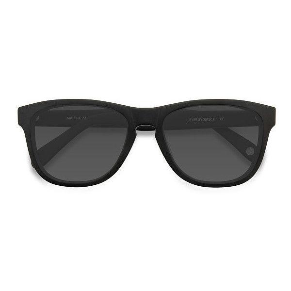 Men's Malibu - Matte Black square - 15913 Matte Black Rx Sunglasses ($42) ❤ liked on Polyvore featuring men's fashion, men's accessories, men's eyewear, men's sunglasses, mens square sunglasses, mens wayfarer sunglasses, mens eyewear and mens sunglasses