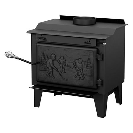 Drolet Rocket High Efficiency Wood Stove
