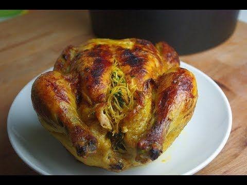 Poulet farci et cuit au four - Blog cuisine marocaine / orientale Ma Fleur d'Oranger / Cuisine du monde /Recettes simples et cratives