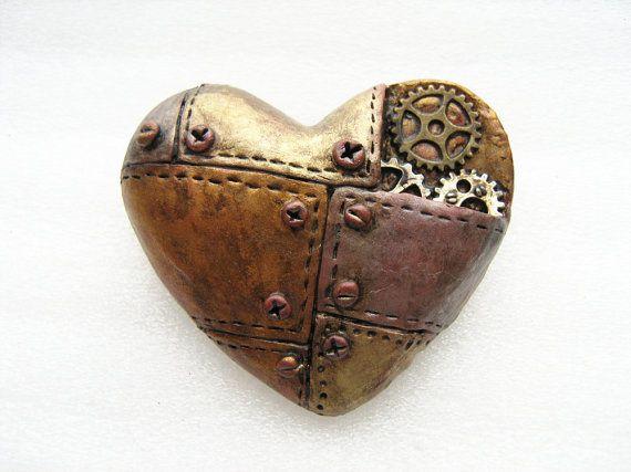machine heart by ZukaSunny on Etsy