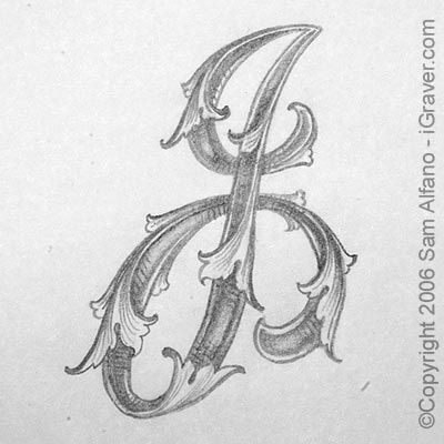 Sam Alfano's Tips & Tricks for Hand Engravers, Letter J