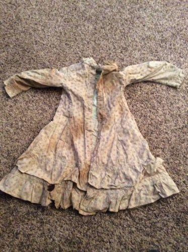 1880 винтажный костюм платье Колорадо шахтёрском городке большего стиля и ткань in Одежда, обувь и аксессуары, Винтаж, Винтажная одежда для детей, До 1930 г. (Викторианская эпоха, 20-е гг.) | eBay