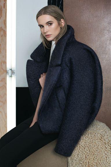 Zaid Affas FW'14-15 #coat #style #fashion