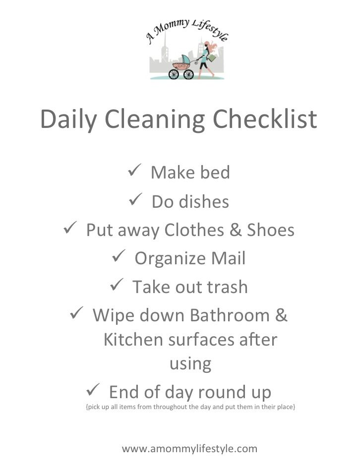 Best Checklist Images On   Cleaning Hacks Cleaning