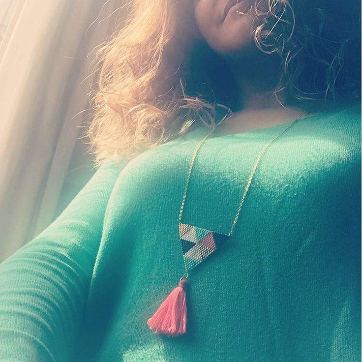 En mode tissage! #sunnysunday#spring#miyuki#necklaces#convalescenceactive