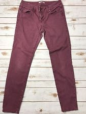 Cabi #919 Women's Bordeaux Wash Skinny Jeans SZ 6