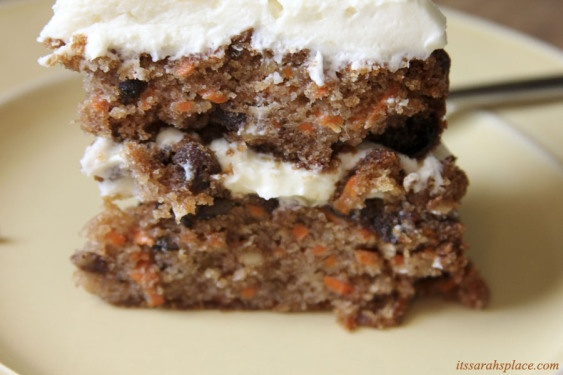 Old Fashioned Carrot Cake with Ginger Mascarpone Frosting