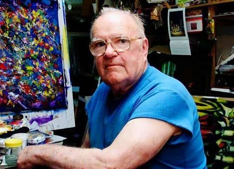 Pro Hart artist,  Broken Hill, NSW Australia (dcsd)