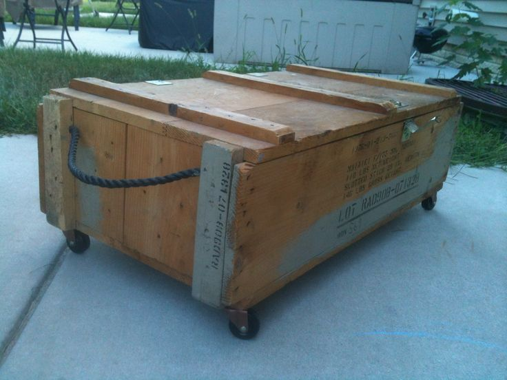 17 best images about wood crates on pinterest crates for Wood crate bench