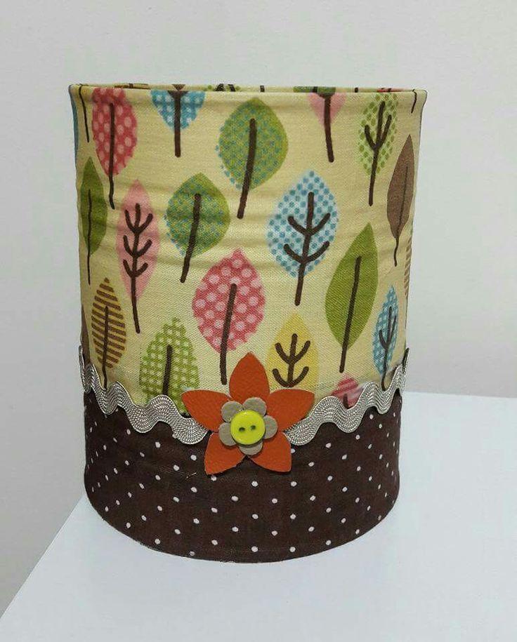 Artesanato, handmade, lata  reciclada, recycle, reciclagem, reuse, upcycle