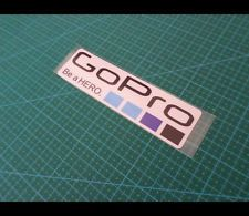 Go Pro Be a HERO. BMX Dirt ride Motobike Motocross CAR Racing Reflective Sticker