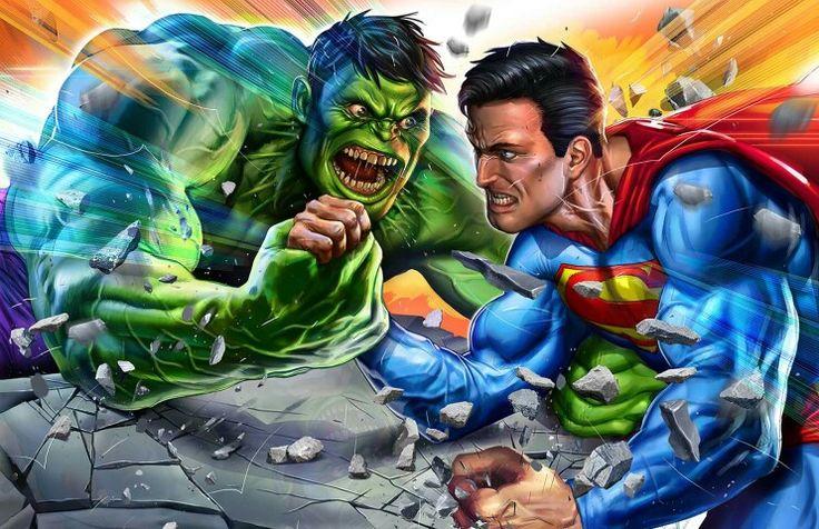 Hulk vs Superman