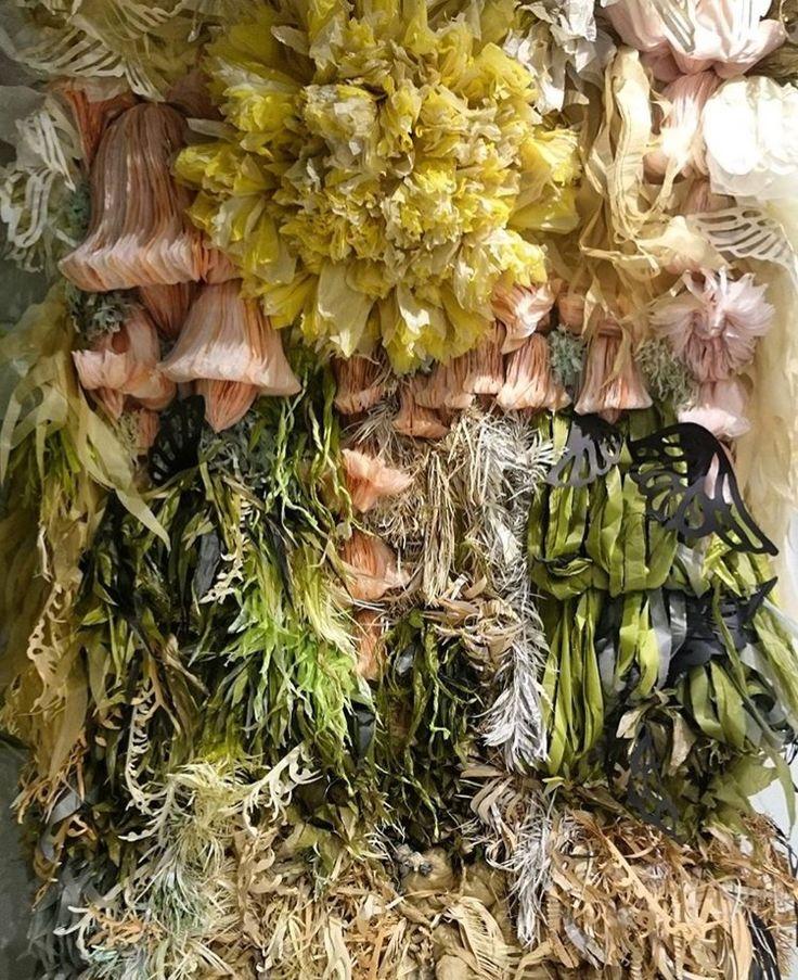 Divine paper flora by Marianne Eriksen Scott Hansen