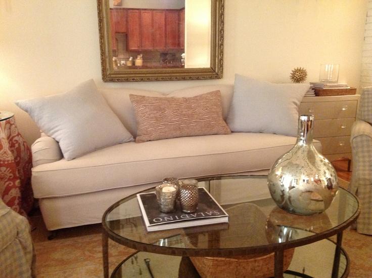 Quatrine London Sofa Designed By Houston Designer, Pat Perrier.  Www.pattiperrierdesign.com