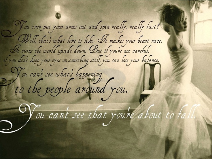 """Nicole Kidman's character from """"Practical Magic"""" on the truth about love. :) One of my favorite quotes from the movie."""