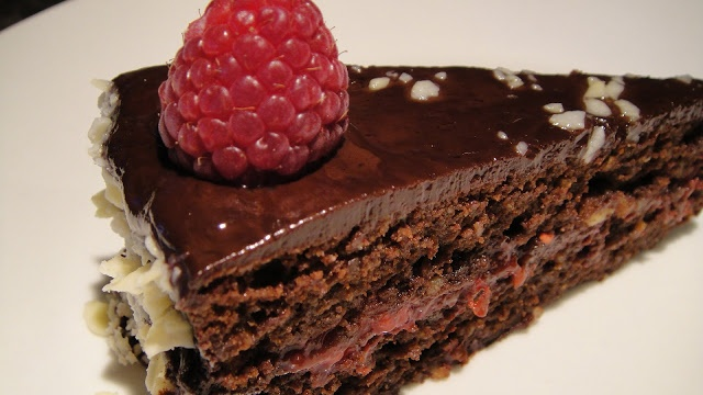 Chocolate Raspberry Torte ~ America's Test Kitchen Recipe