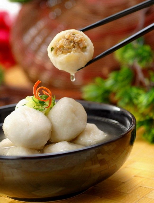 How to make stuffed fish ball a signature snack of xiamen for Chinese fish balls