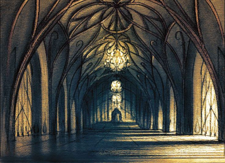 The throne room from Tales by Trees: The Carpenter