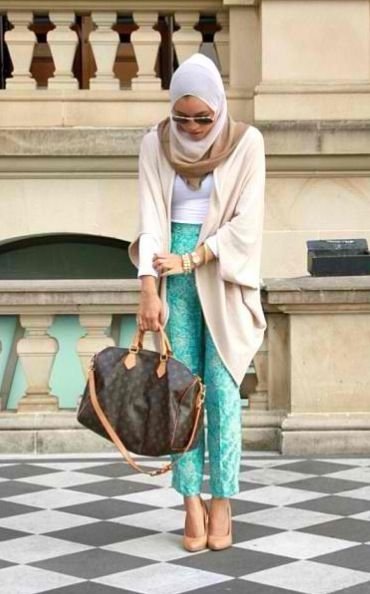 Perfect hijabi outfit!