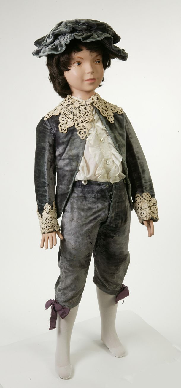 Fauntleroy suit...This suit was worn by six-year old Walter Hamilton Moberly during the celebrations of the 50th anniversary of Queen Victoria's reign, in June 1887.