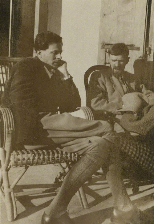 Aldous Huxley and D. H. Lawrence (I'm unfamiliar with D. H. Lawrence's work)