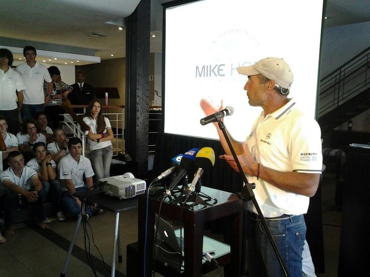 Mike Horn, pangaea presentation!