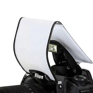 Pixco pop-up Flash Diffuser per Canon 60D 600D 7D 5D II Nikon D7000 D3100 D5100 – EUR € 2.75