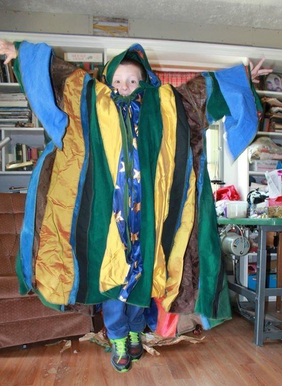 Wizard coat.