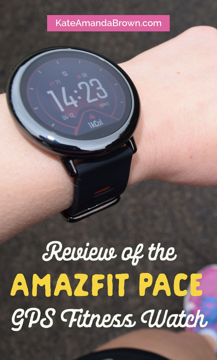 If you're looking for a GPS-enabled fitness watch that looks good and has an impressive battery life, you're looking for the Amazfit Pace. Check out my review by clicking on the image! Kate Amanda Brown | Healthy Lifestyle by Design | fitness watch, fitness tracker, Amazfit, GPS watch, running watch, wearables, fitness technology