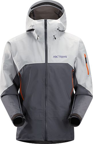 Rush Jacket Men's Waterproof, breathable and durable jacket designed for big mountain adventures